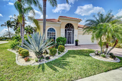 Delray Beach Single Family Home For Sale: 7211 Demedici Circle