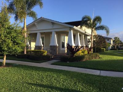 Jupiter Single Family Home For Sale: 1347 Telfair Drive