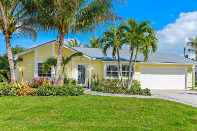 Jupiter Single Family Home For Sale: 18353 Flagship Circle