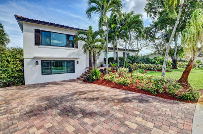 Boca Raton Single Family Home Contingent: 532 NW 12th Terrace