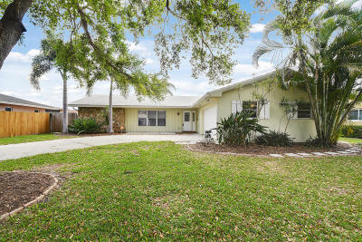 Palm Beach Gardens Single Family Home For Sale: 4360 Elm Avenue