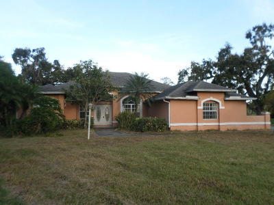 Okeechobee Single Family Home For Sale: 915 SE 15th Street