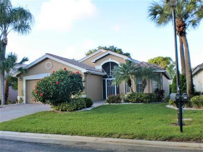 Boynton Beach Single Family Home For Sale: 7539 Sagunto Street