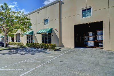 Pompano Beach Commercial Contingent: 1081 NW 31st Avenue #A-6