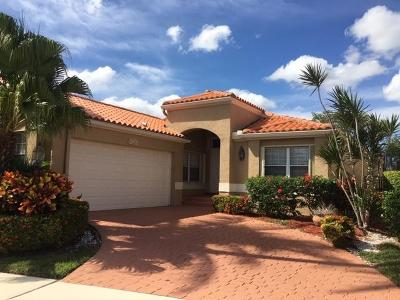 Boca Raton Single Family Home For Sale: 19901 Milan Terrace