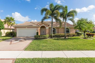 boynton beach Single Family Home For Sale: 12400 Divot Drive