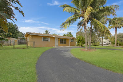 North Palm Beach Single Family Home For Sale: 1816 Pleasant Drive