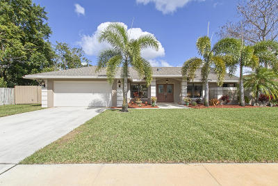 Wellington Single Family Home For Sale: 1835 Staimford Circle