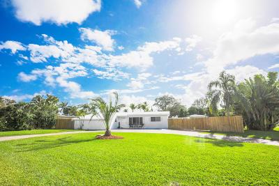 West Palm Beach Single Family Home For Sale: 2602 Palmarita Road
