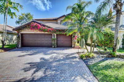 Delray Beach Single Family Home For Sale: 15802 Menton Bay Court