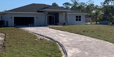 Loxahatchee Single Family Home Contingent: 13499 71 Street