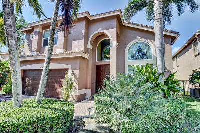 Delray Beach Single Family Home Contingent: 15809 Corintha Terrace