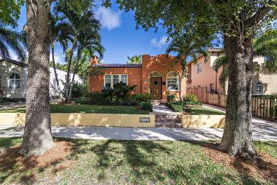 West Palm Beach Single Family Home For Sale: 831 Sunset Road