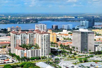 West Palm Beach Condo For Sale: 550 Okeechobee Boulevard #1510