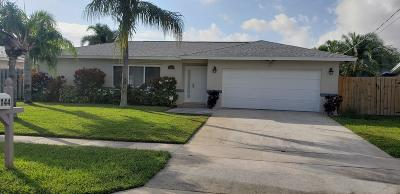 Boynton Beach Single Family Home For Sale: 1144 SW 24th Avenue