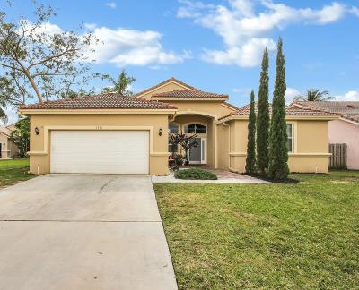 boynton beach Single Family Home For Sale: 9430 Lago Drive
