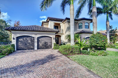 Delray Beach Single Family Home For Sale: 8823 Sydney Harbor Circle