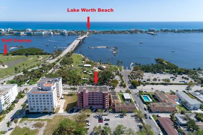 Lake Worth Condo For Sale: 15 S Golfview Road #305