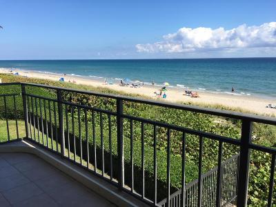Highland Beach Condo For Sale: 3009 S Ocean Boulevard #202