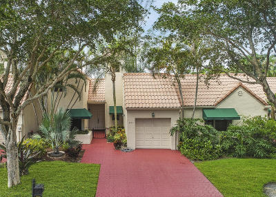 Boca Raton Townhouse For Sale: 6668 Las Flores Drive