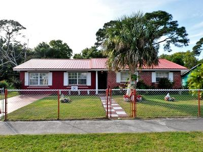 Fort Pierce Single Family Home For Sale: 903 Hickory Street