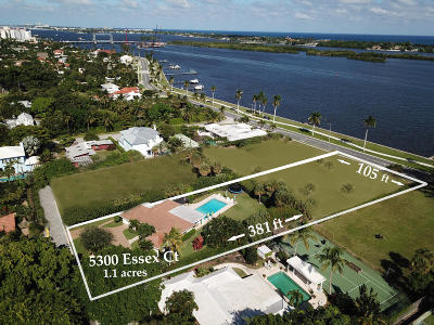 West Palm Beach Residential Lots & Land For Sale: 5300 Essex Court