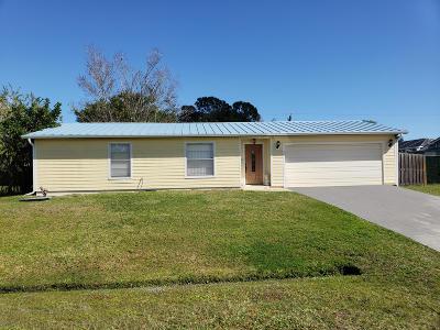 Port Saint Lucie Single Family Home For Sale: 1125 SW Hogan Street