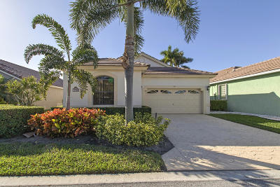 boynton beach Single Family Home For Sale: 10309 Lexington Lakes Boulevard S
