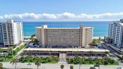 Highland Beach Condo For Sale: 3101 S Ocean Boulevard #618