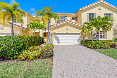 Palm Beach Gardens Townhouse For Sale: 4858 Cadiz Circle