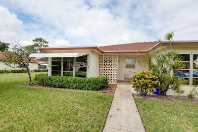 Delray Beach Single Family Home For Sale: 4525 NW 3rd Street #A