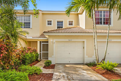 Boynton Beach Townhouse For Sale: 9677 Porta Leona Lane