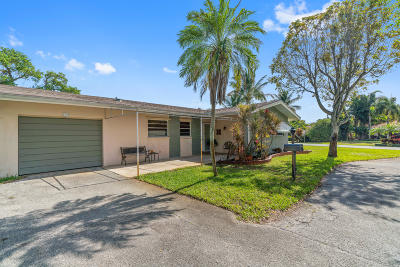 Delray Beach Single Family Home For Sale: 519 NW 7th Street
