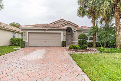 Boynton Beach Single Family Home For Sale: 6586 Kings Creek Terrace