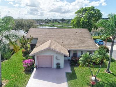West Palm Beach Single Family Home For Sale: 3802 Rowena Circle