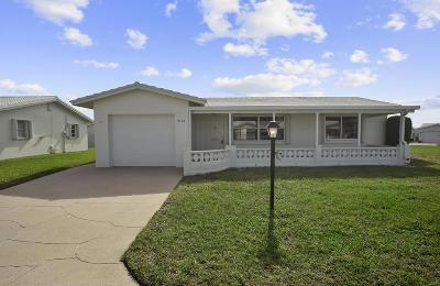 Boynton Beach FL Single Family Home For Sale: $199,900