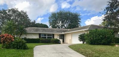 Palm Beach Gardens Single Family Home For Sale: 11899 Bayberry Street
