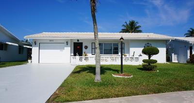 Boynton Beach Single Family Home For Sale: 1911 SW 18th Street