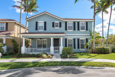 Delray Beach Single Family Home For Sale: 1437 E Bexley Park Drive