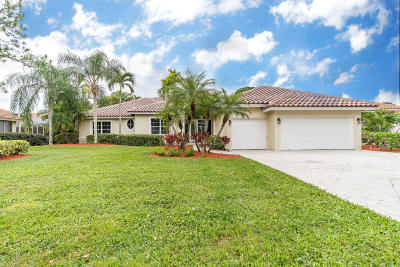 Jupiter Single Family Home For Sale: 154 River Drive E