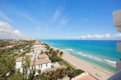 Highland Beach Condo For Sale: 4505 S Ocean Boulevard #1004
