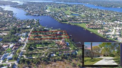 Tequesta Single Family Home For Sale: 19050 SE County Line Road