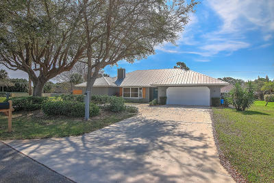 Hobe Sound Single Family Home For Sale: 8572 SE Quail Ridge Way