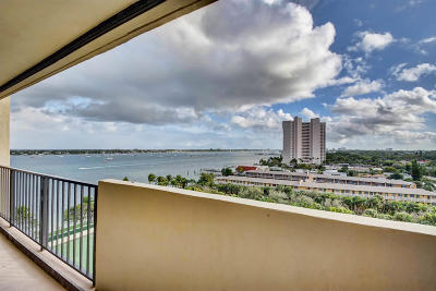 West Palm Beach Condo For Sale: 5600 Flagler Drive #905