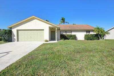 Royal Palm Beach Single Family Home For Sale: 278 La Mancha Avenue