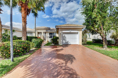 Boynton Beach Single Family Home For Sale: 9567 Crescent View Drive