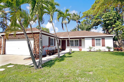 Jupiter Single Family Home For Sale: 102 Arrowhead Circle