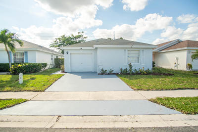 Boynton Beach Single Family Home For Sale: 116 Sunset Boulevard