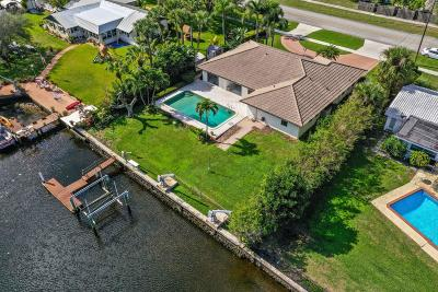 Martin County, Palm Beach County Single Family Home For Sale: 1419 Flagler Boulevard