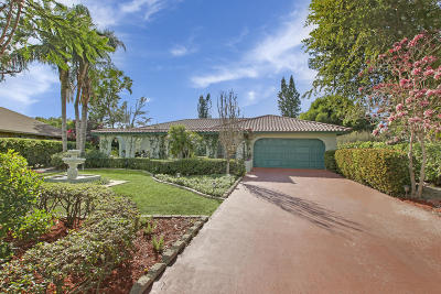 Wellington Single Family Home For Sale: 1561 Wyndcliff Drive